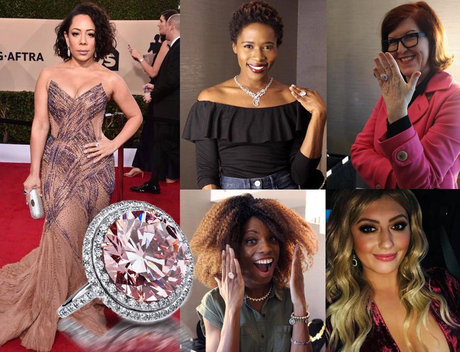 Celebrities wearing Dan Henry Designs jewelry