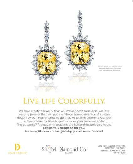 Dan Henry Jewelry Ad at Shaftel Diamond Company